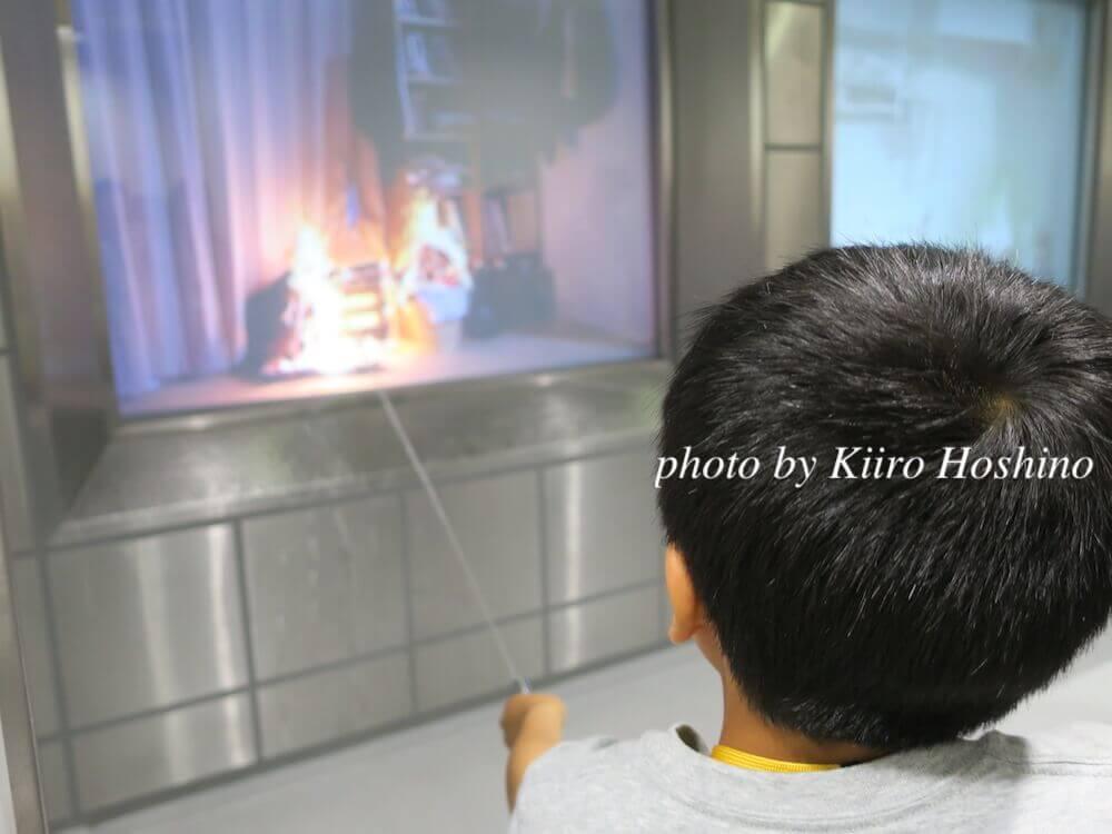 東大阪防災センター、初期消火
