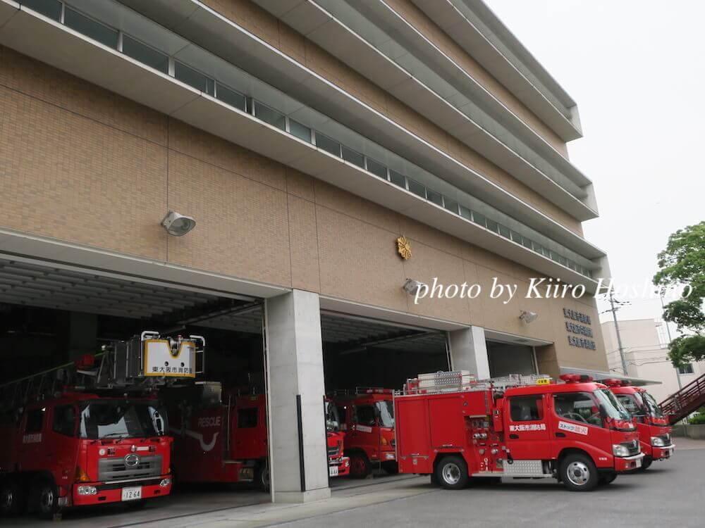 東大阪防災センター、外観