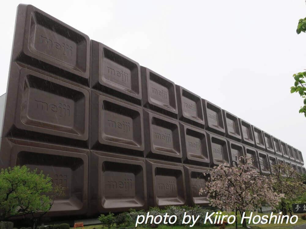 明治工場見学、ビックチョコ全体