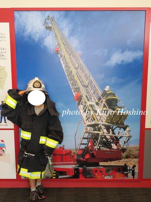 東大阪防災センター、消防服